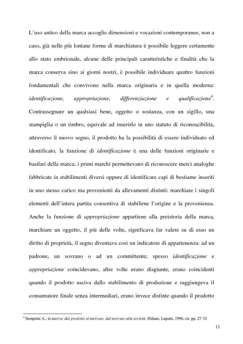 Anteprima della tesi: Politiche di E-branding: come sviluppare la marca attraverso le nuove tecnologie, Pagina 7