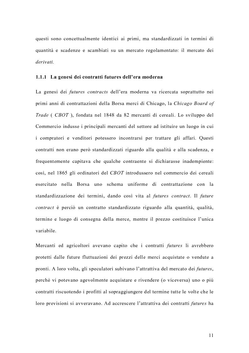 Anteprima della tesi: Il mercato italiano degli stock futures, Pagina 7