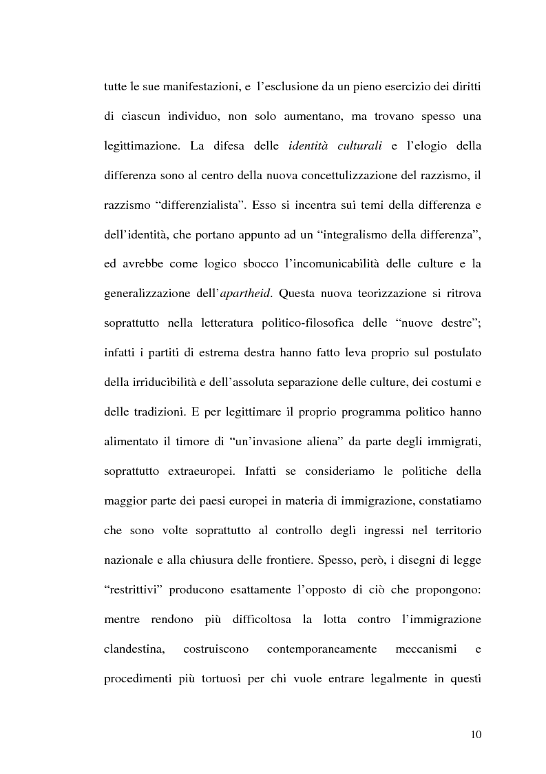 Anteprima della tesi: Il razzismo come pilastro istituzionale del capitalismo storico, Pagina 8