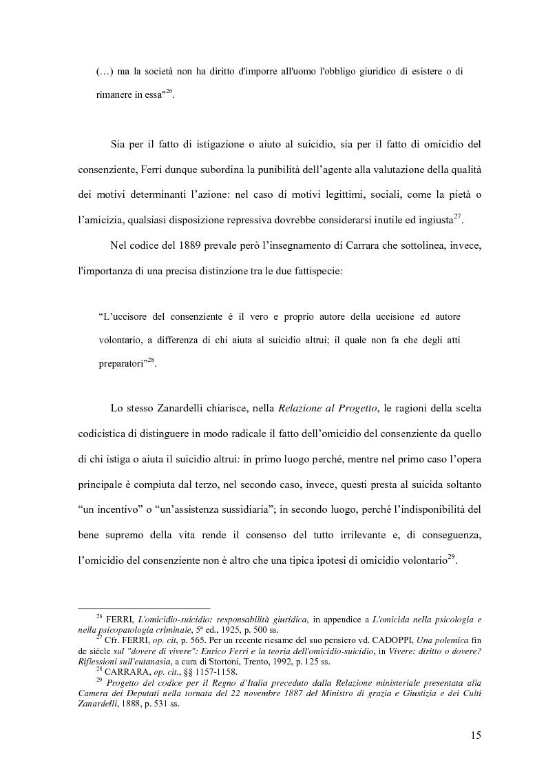 Anteprima della tesi: Il delitto di istigazione o aiuto al suicidio, Pagina 10