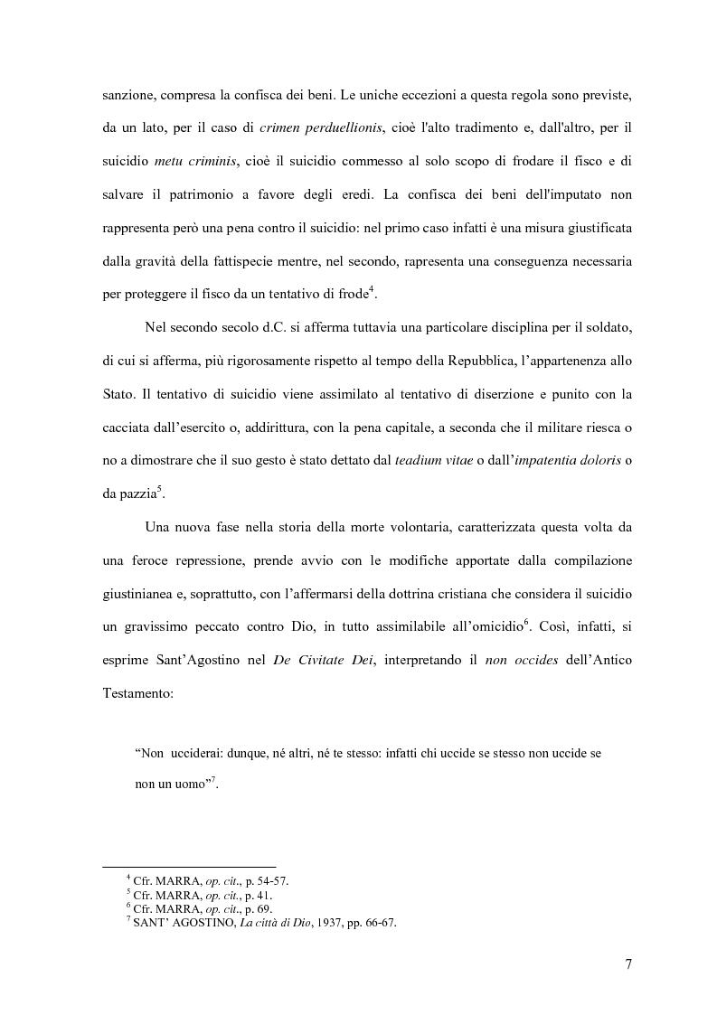 Anteprima della tesi: Il delitto di istigazione o aiuto al suicidio, Pagina 2