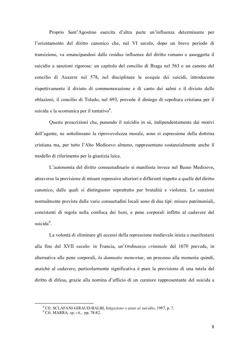 Anteprima della tesi: Il delitto di istigazione o aiuto al suicidio, Pagina 3