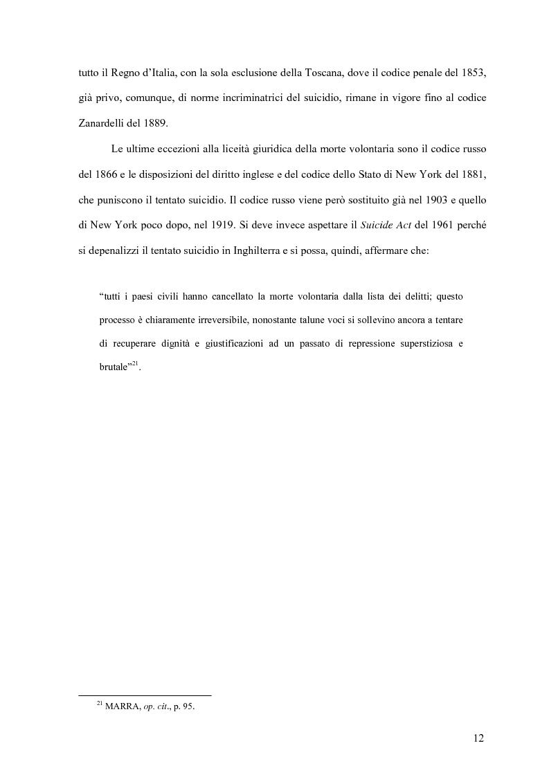 Anteprima della tesi: Il delitto di istigazione o aiuto al suicidio, Pagina 7