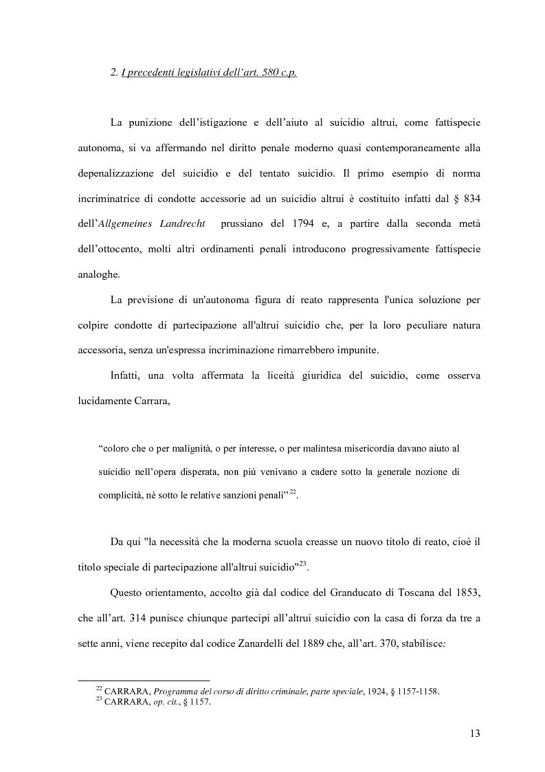 Anteprima della tesi: Il delitto di istigazione o aiuto al suicidio, Pagina 8