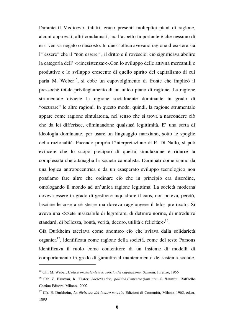 Anteprima della tesi: I luoghi di consumo nella società globale, Pagina 10