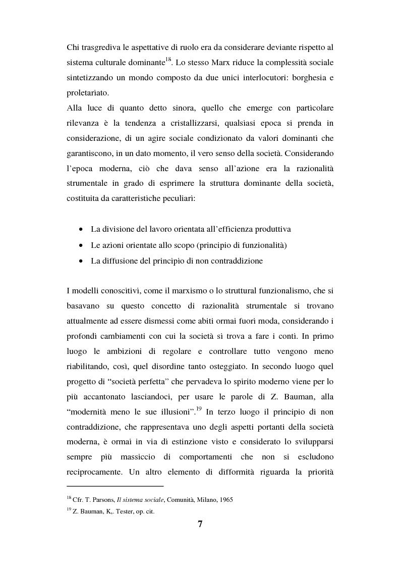 Anteprima della tesi: I luoghi di consumo nella società globale, Pagina 11