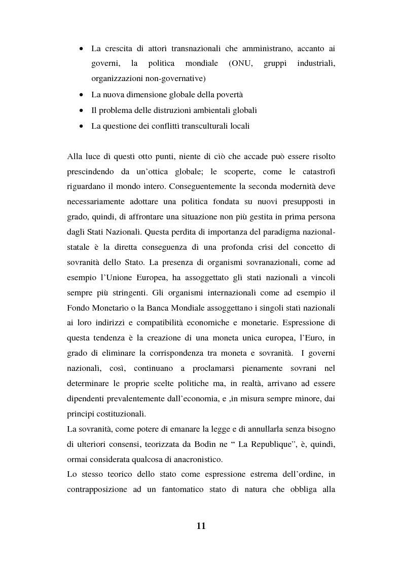 Anteprima della tesi: I luoghi di consumo nella società globale, Pagina 15