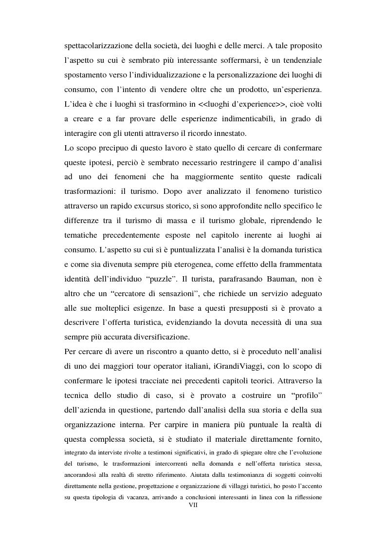 Anteprima della tesi: I luoghi di consumo nella società globale, Pagina 3