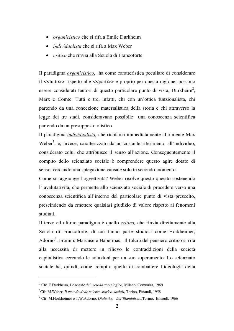 Anteprima della tesi: I luoghi di consumo nella società globale, Pagina 6