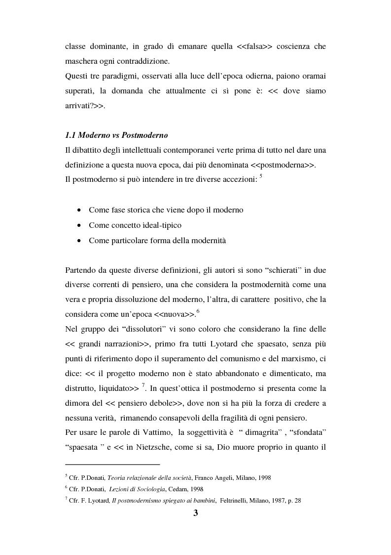 Anteprima della tesi: I luoghi di consumo nella società globale, Pagina 7