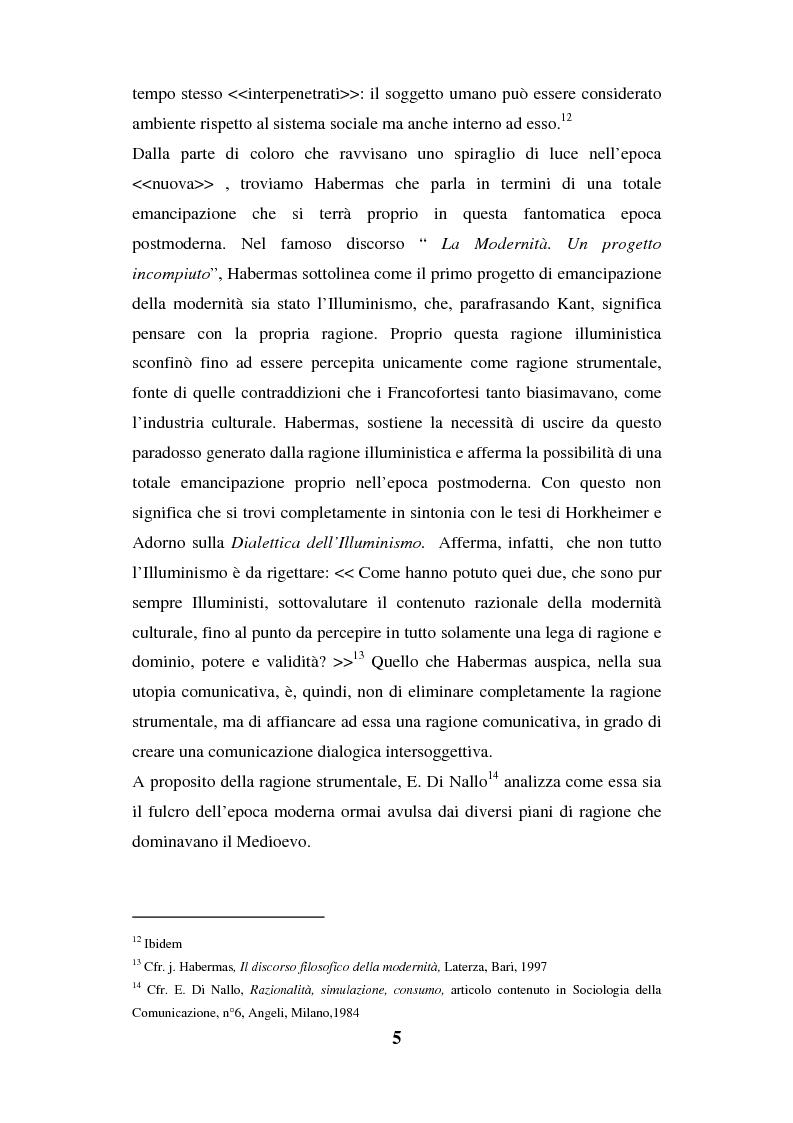 Anteprima della tesi: I luoghi di consumo nella società globale, Pagina 9