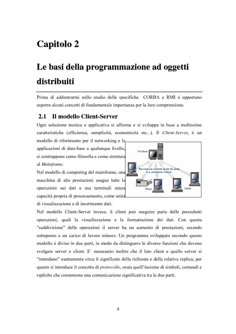 Anteprima della tesi: Trasformazione, indipendente dal protocollo ed automatica, di software centralizzato in distribuito, Pagina 3