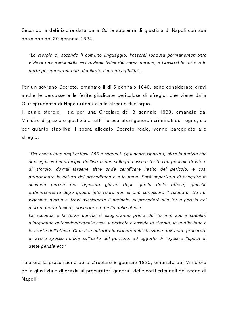 Anteprima della tesi: L'indebolimento permanente di un senso o di un organo nelle lesioni personali, Pagina 9