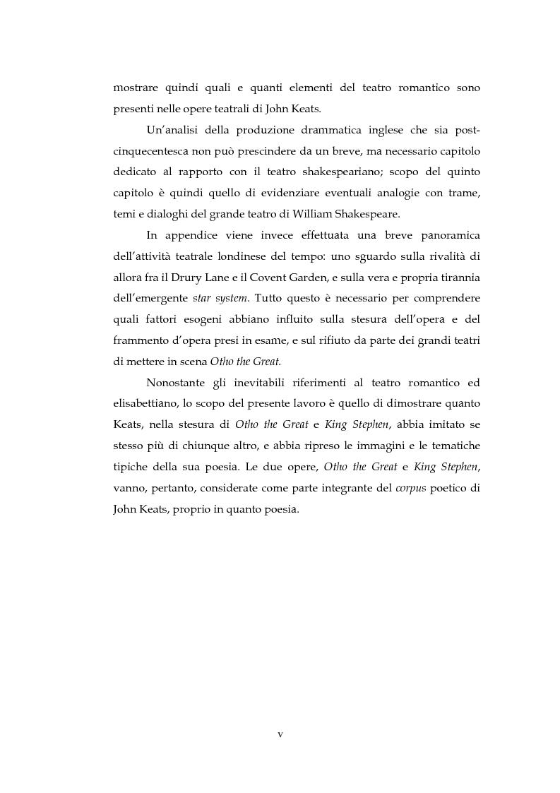 Anteprima della tesi: Il Teatro di John Keats, Pagina 3
