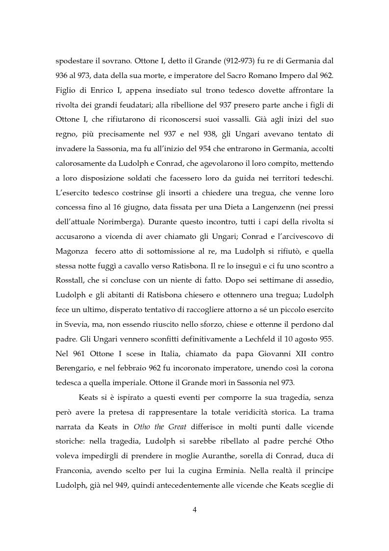 Anteprima della tesi: Il Teatro di John Keats, Pagina 7