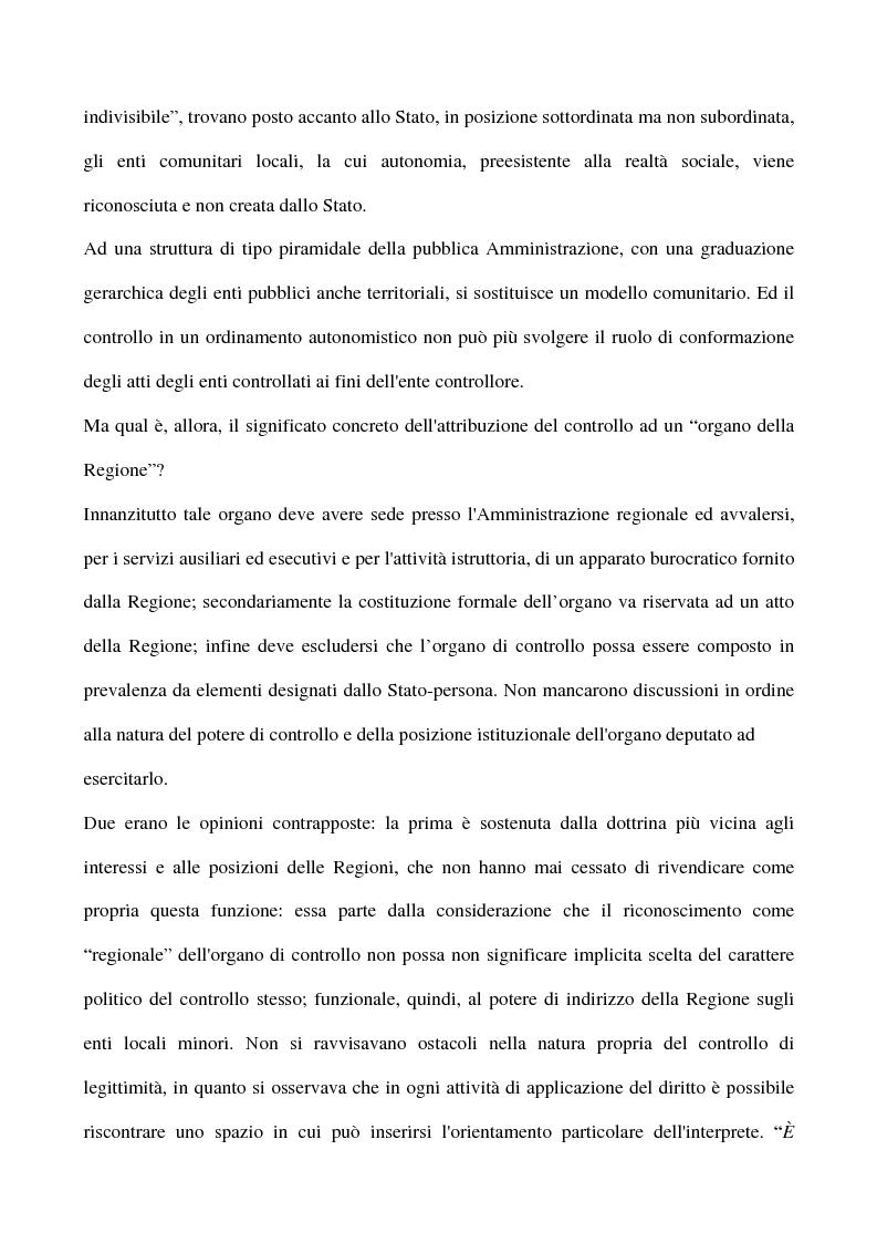 Anteprima della tesi: Il sistema dei controlli sui comuni, Pagina 14