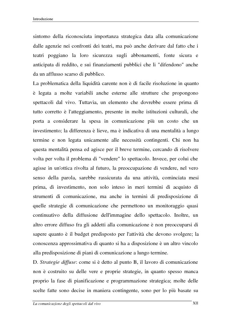 Anteprima della tesi: La comunicazione degli spettacoli dal vivo, Pagina 12