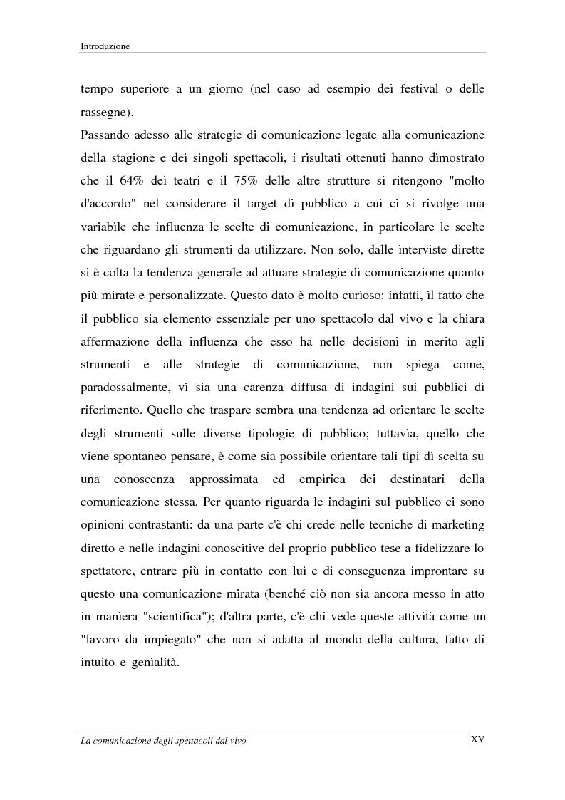 Anteprima della tesi: La comunicazione degli spettacoli dal vivo, Pagina 15