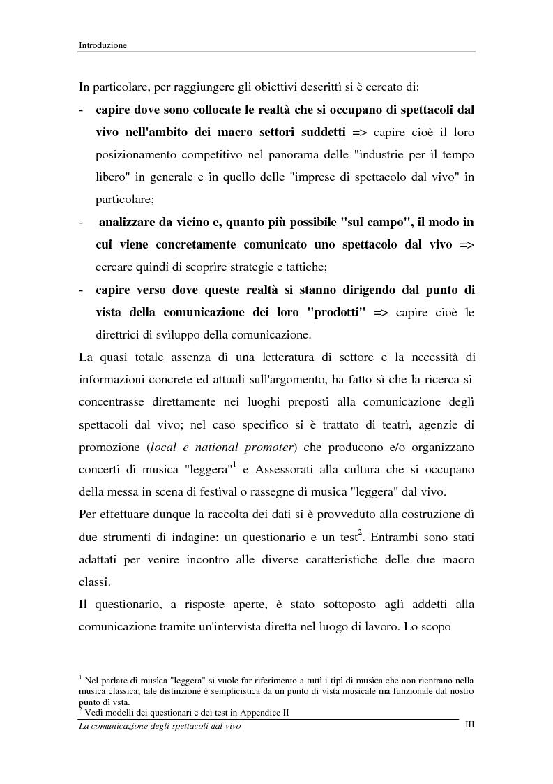 Anteprima della tesi: La comunicazione degli spettacoli dal vivo, Pagina 3