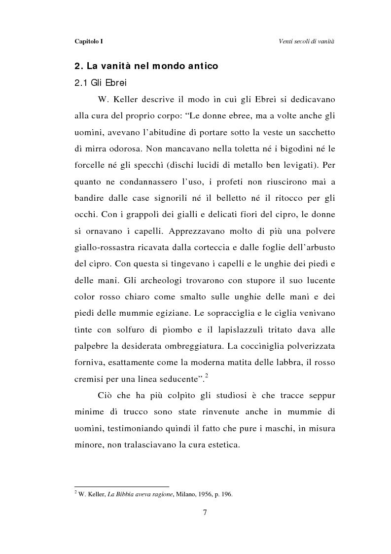 Anteprima della tesi: Dal bagno a dondolo alla jacuzzi: relax, fitness e vanità maschile nella comunicazione pubblicitaria, Pagina 7