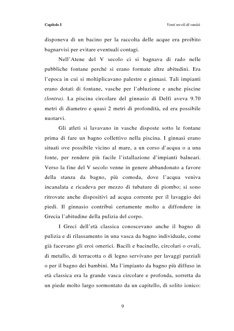 Anteprima della tesi: Dal bagno a dondolo alla jacuzzi: relax, fitness e vanità maschile nella comunicazione pubblicitaria, Pagina 9