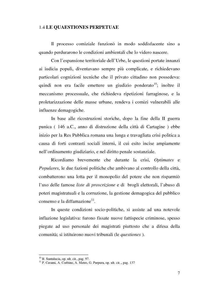 Anteprima della tesi: Influssi giurisprudenziali sull'evoluzione del diritto penale, Pagina 7