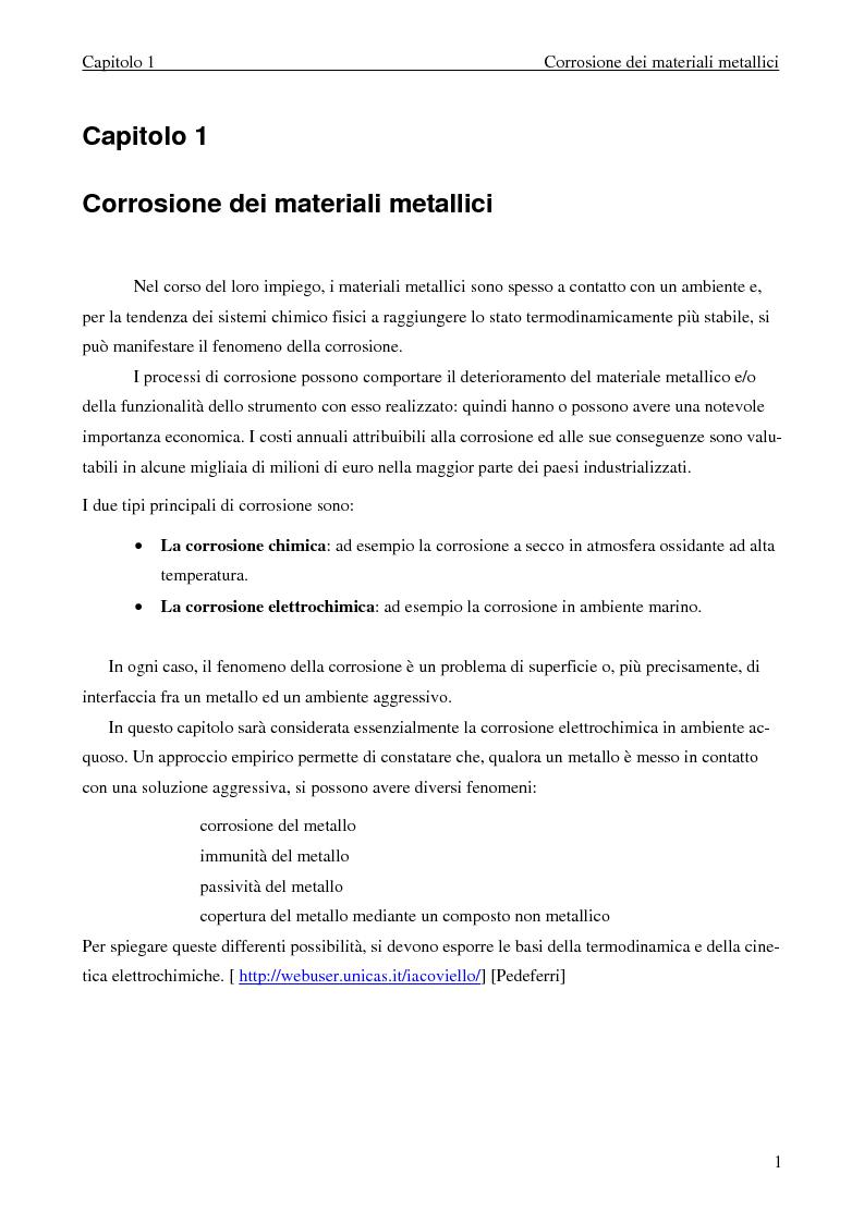 Anteprima della tesi: Effetti della polarizzazione elettrica del titanio su cellule ossee, Pagina 3