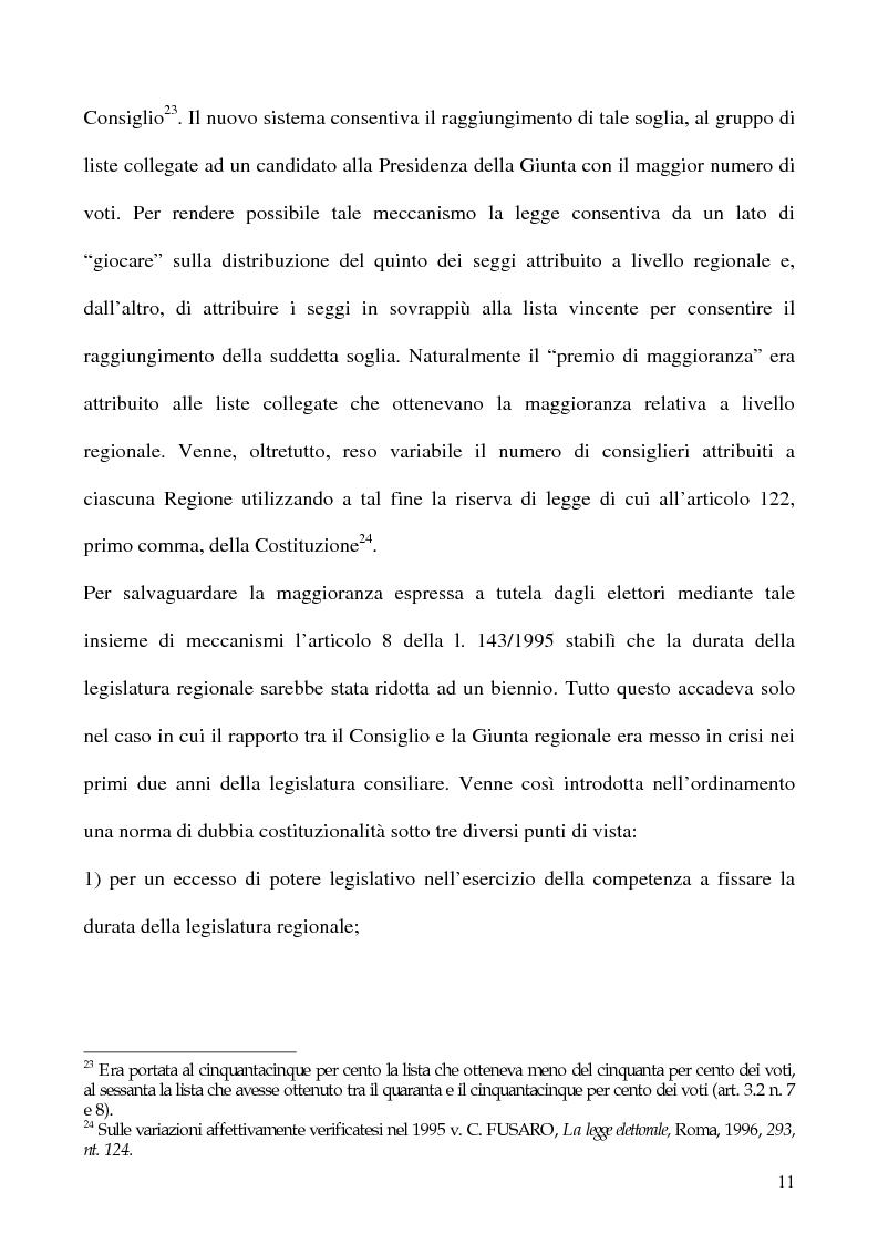 Anteprima della tesi: La potestà statutaria: il caso Calabria, Pagina 11