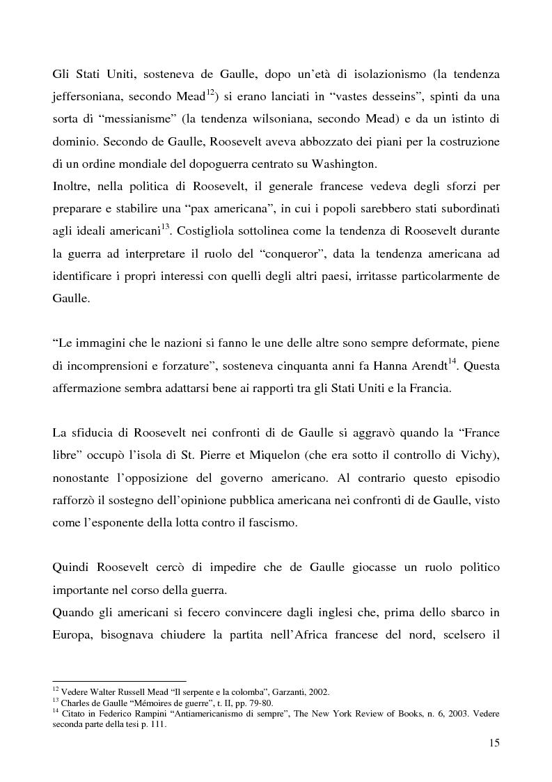 Anteprima della tesi: L'immagine degli Stati Uniti in Francia dopo l'11 settembre, Pagina 15