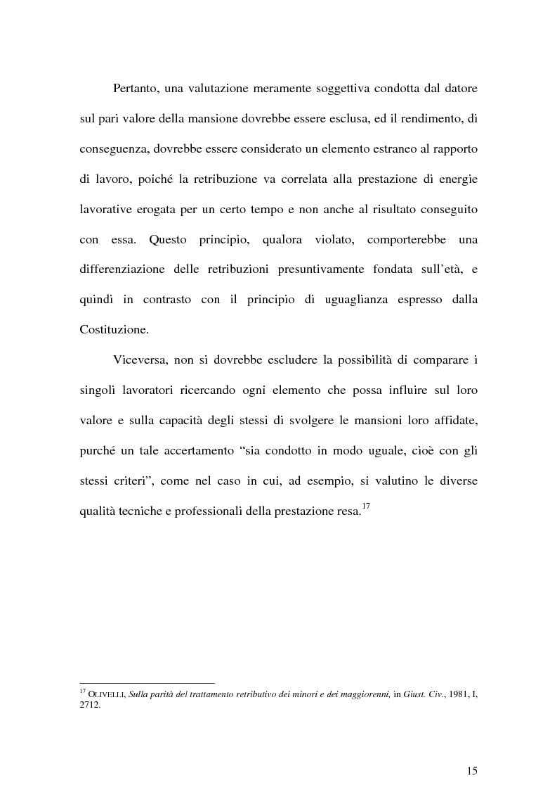 Anteprima della tesi: Il Lavoro dei minori e l'Apprendistato, Pagina 14