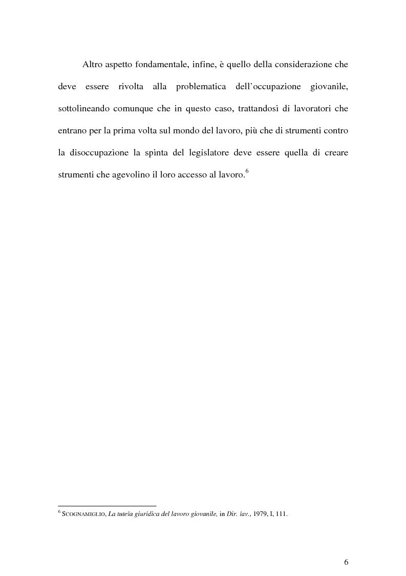 Anteprima della tesi: Il Lavoro dei minori e l'Apprendistato, Pagina 5